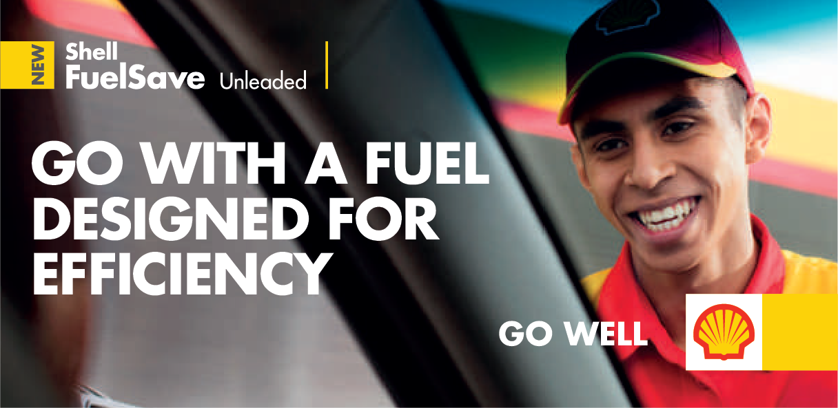 NEW Shell FuelSave Unleaded