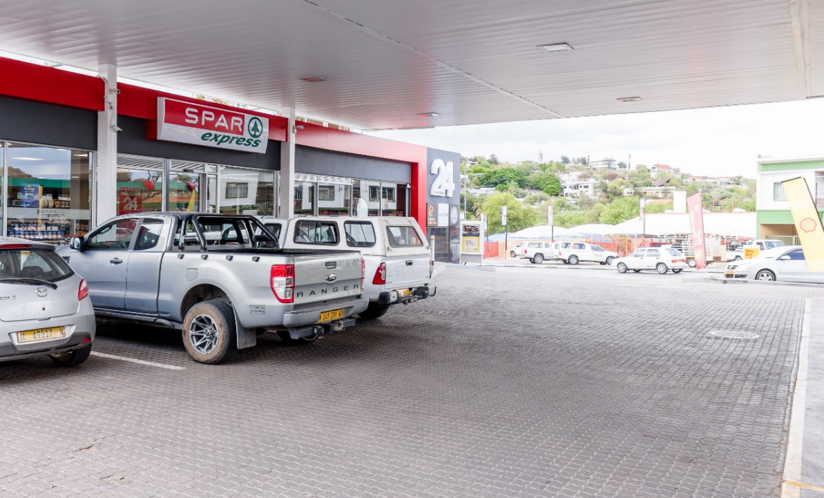 spar express vivo energy namibia